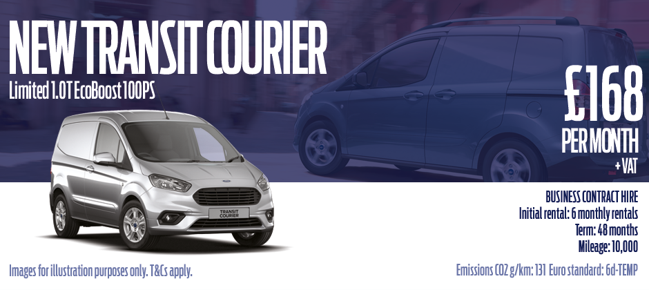 New Transit Courier Swansea