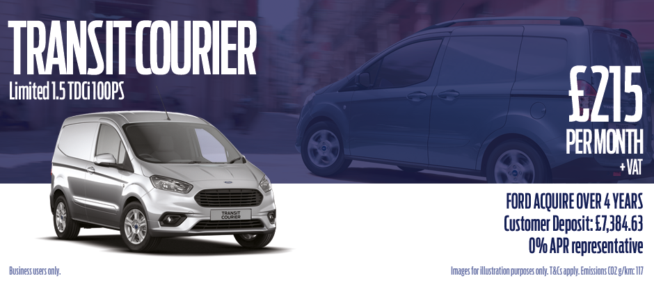 Transit Courier Ford contract hire offer