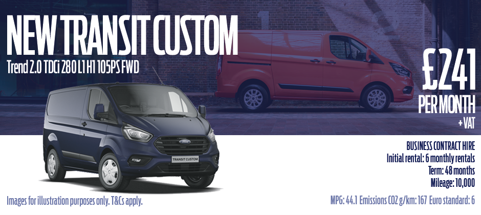New Transit Custom Offers Swansea