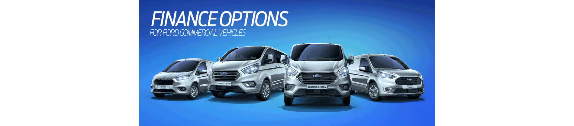 Ford Transit Finance options