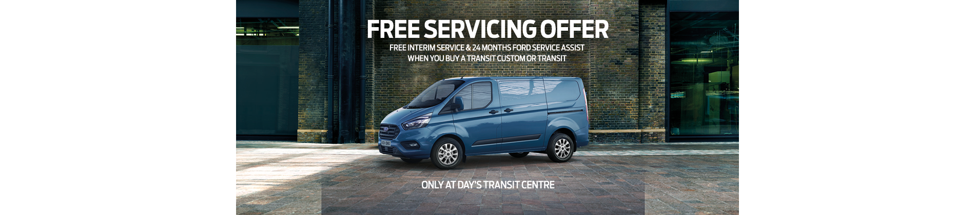 Transit Custom servicing offer Swansea